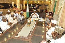NIGER STATE GOVERNOR, LEGISLATORS STRENGTHEN RELATIONSHIP TO ACHIEVE DESIRED RESULTS.