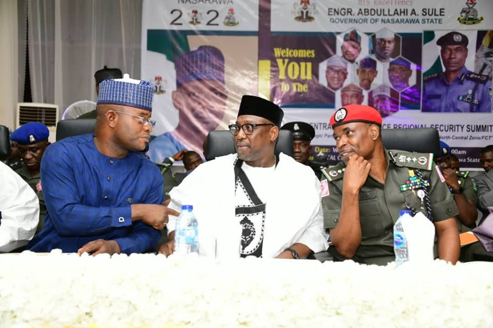 NORTH CENTRAL GOVERNORS COMMEND NPF ON COMMUNITY POLICING