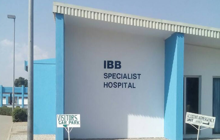 The state, Gov Abu Sani Bello is currently renovating IBB Specialist Hospital Minna.