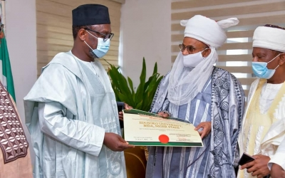 EDUSOKO VARSITY WILL SOLVE  CHALLENGES OF ADMISSION IN THE STATE- GOVERNOR  SANI BELLO