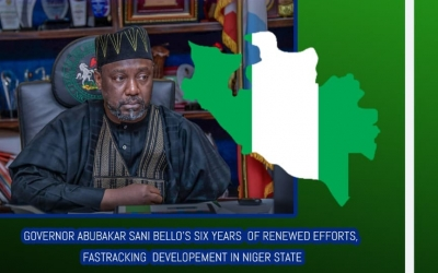 GOVERNOR ABUBAKAR SANI BELLO'S JOURNEY SO FAR: REASSURES CTIZENS OF CONTINUOUS GROWTH AND DEVELOPMENT.