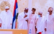 APC CECPC PROGRESS REPORT: GOV ABUBAKAR SANI BELLO OF NIGER STATE JOINS OTHER APC OFFICIALS
